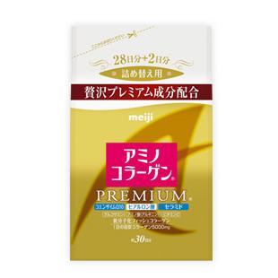 Meiji 明治膠原蛋白粉Amino Premium 白金袋裝30 天份