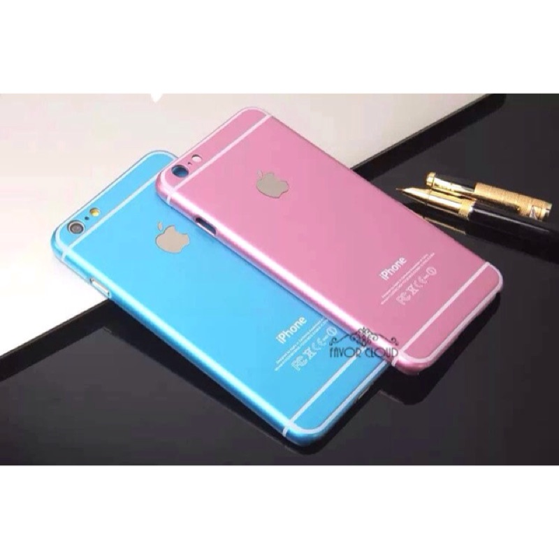 PH070 iPhone 6S plus iPhone5 5s 桃紅、藍色手機殼璀璨閃粉星