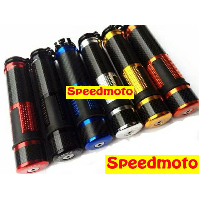 ~Speedmoto ~碳纖維握把套CNC 鋁合金把手套卡夢握把含平衡端子碳纖維G5 雷霆