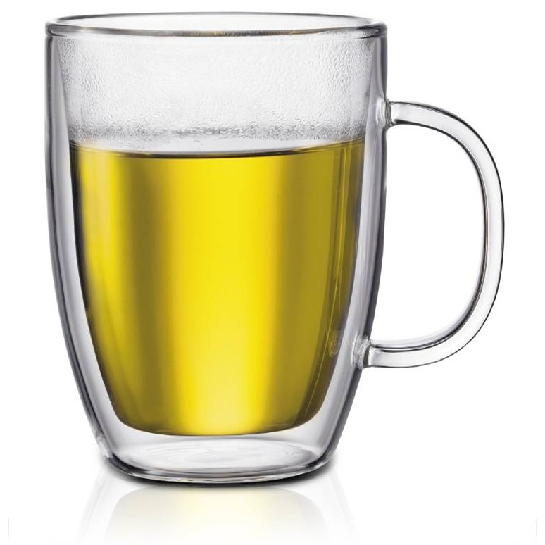 ~高 ~雙層玻璃杯雙層馬克杯咖啡杯飲料杯 杯保溫隔熱杯475ml 媲美BODUM 星巴克O