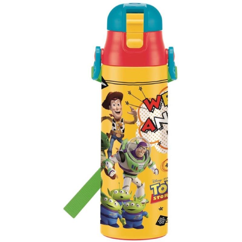 SKATER 超輕量不鏽鋼保冷直飲式水壺580ml 迪士尼款玩具總動員汽車總動員麥坤迪士尼