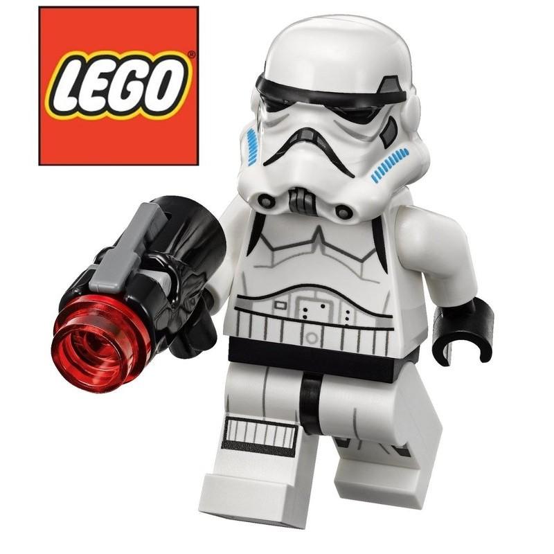 特LEGO 樂高帝國風暴兵白兵附武器星際大戰拆自75078