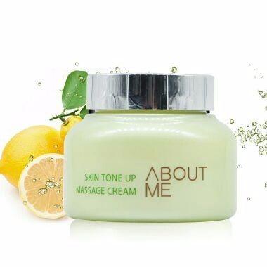 ABOUT ME 檸檬排毒膏韓國按摩霜按摩膏
