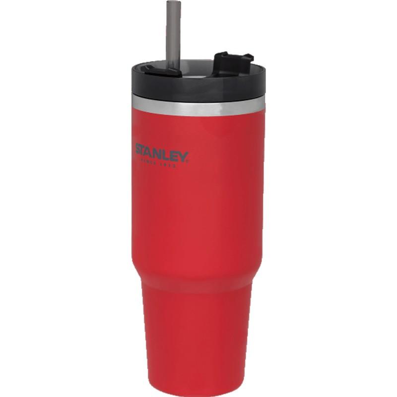 STANLEY 冒險系列 吸管隨手杯0.88L 1002663 冰壩杯保溫杯不鏽鋼杯