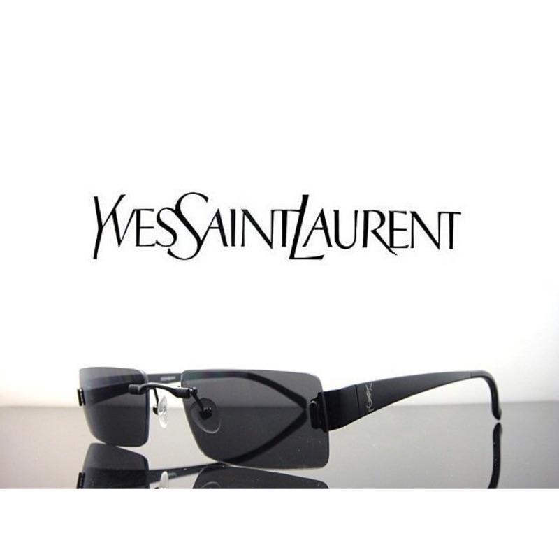 色無框式彈簧鏡腳 logo 太陽眼鏡 貨YSL 2128