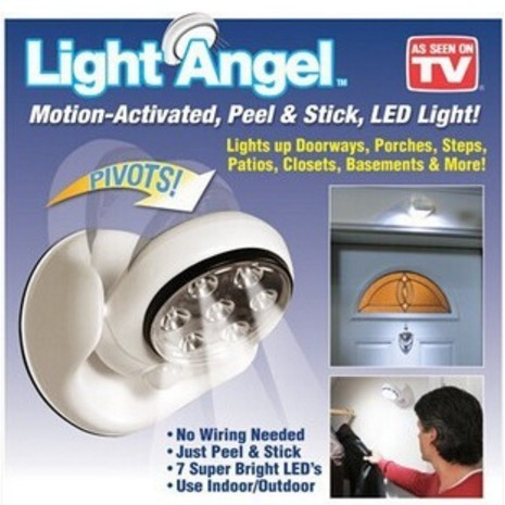 ~專銷 日~居家防護安全照明燈Light Angel 360 度LED 自動感應燈