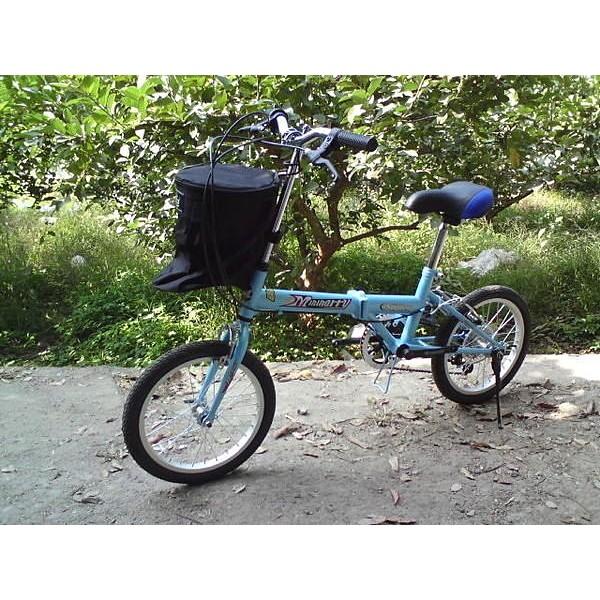 戴英俊腳踏車 :多 巧小口愛隨車布籃子寵物袋 袋隨車籃~尊爵黑~布籃子長筒