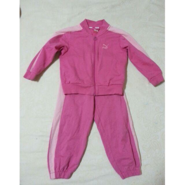 PUMA 粉紅 套裝