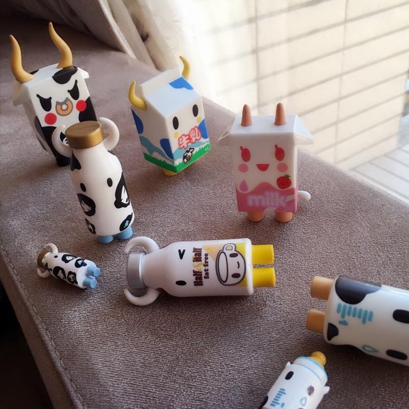 敲可愛tokidoki 牛乳罐奶瓶公仔2 3 英吋