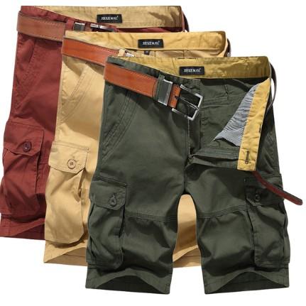 ❋ 中❋ 男士工裝短褲五分褲寬鬆大碼休閒褲直筒中褲子