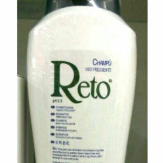 現預Reto 每日用洗髮精中性頭皮1250ml