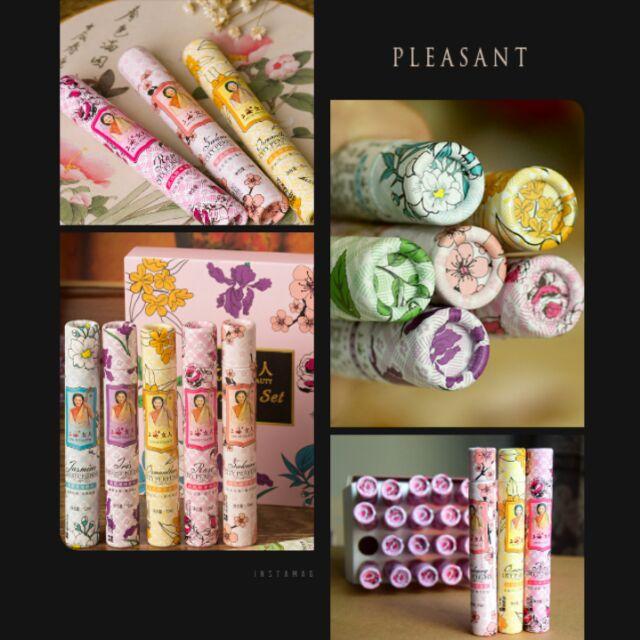 上海女人都市香水滾珠香水隨身小香水茉莉玫瑰櫻花桂花綠茶鳶尾