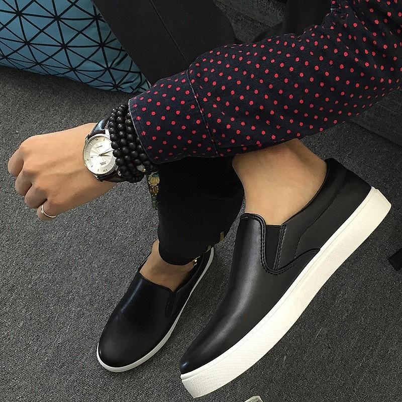 潮流服飾n n 男皮鞋懶人鞋休閒鞋 鞋英倫鞋皮鞋球休閒鞋子休閒皮鞋 鞋子 皮鞋春 男士樂福