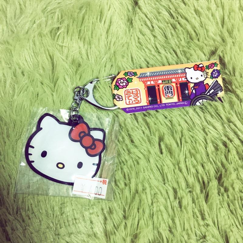 可折抵蝦幣! 140 購回雷門 鑰匙圈Hello kitty 限定版只有一個東京