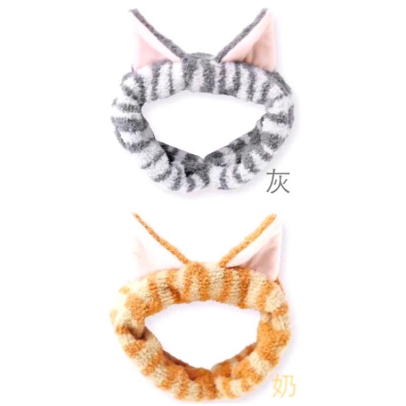 •PINY •~ • ~ 日單外貿立體貓耳超萌束臉髮帶❤️賣萌啦