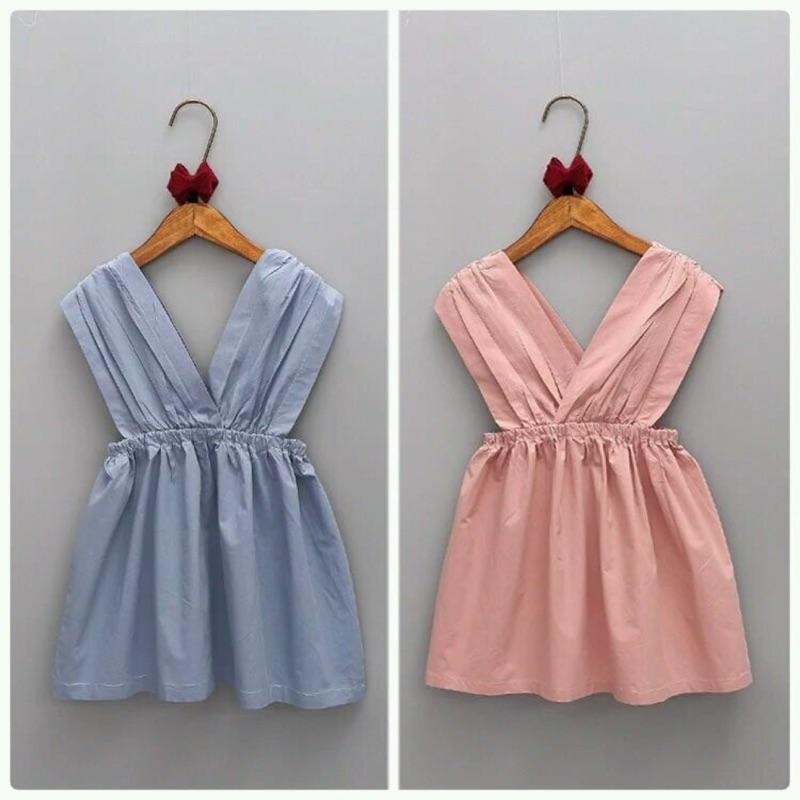 女童款, 新品,純色連身洋裝,230 件