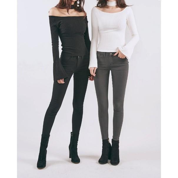 MissAKorea ✈️ ✈️正韓5kg 魔法顯瘦內刷毛牛仔褲Vol 60