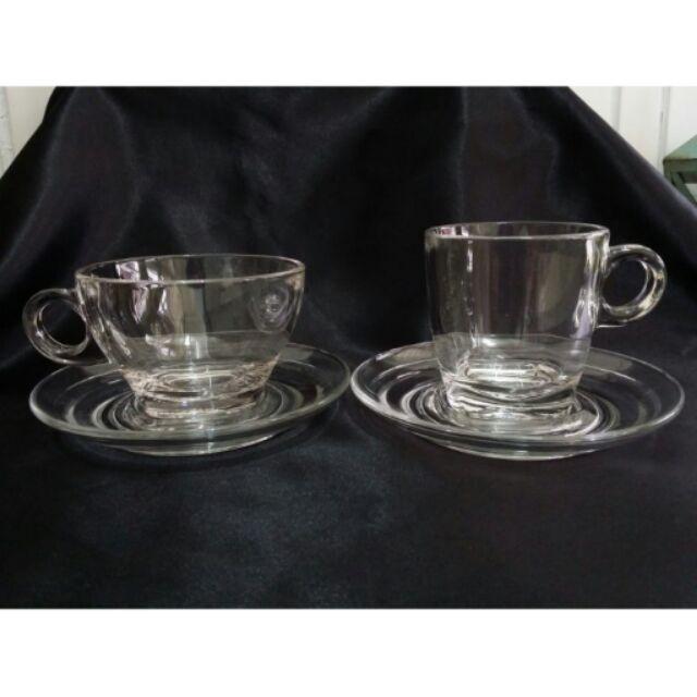 蘇菲亞 傢飾耐熱玻璃義式可疊式咖啡杯花茶杯濃縮杯Espresso 濃縮咖啡杯組膠囊咖啡杯組