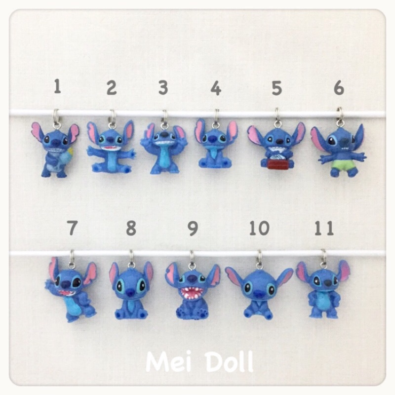 客製史迪奇stitch 鑰匙圈迪士尼Disney 訂製請先討論✨meidoll 客製化吊飾