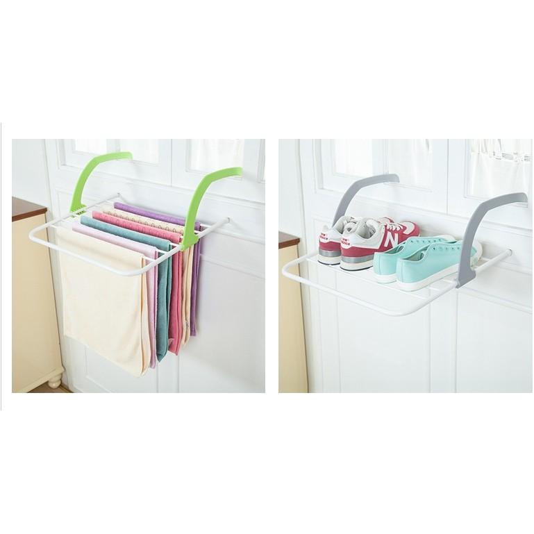 多更多陽台簡易晾曬架收納晾衣架多 可摺疊晾曬架戶外折疊衣架曬衣架