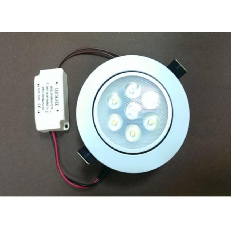 陞麟照明LED 崁燈700 流明7 晶開孔95mm 可調角度正白光暖白光自然白光含變壓器L