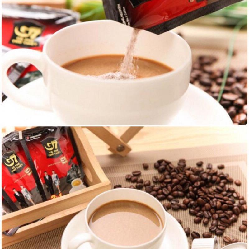 ✦Apple 國際食品 ~越南G7 咖啡即溶咖啡三合一咖啡家庭號大袋1 袋50 包16g