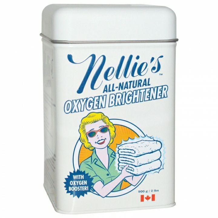 ☑多 用途蘇打 於洗衣,廚房,浴室,地毯清潔加拿大Nellies 天然活氧去汙亮白蘇打粉錫