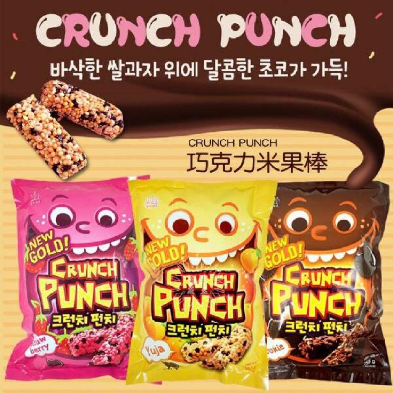 韓國CRUNCH PUNCH 巧克力米果棒250g