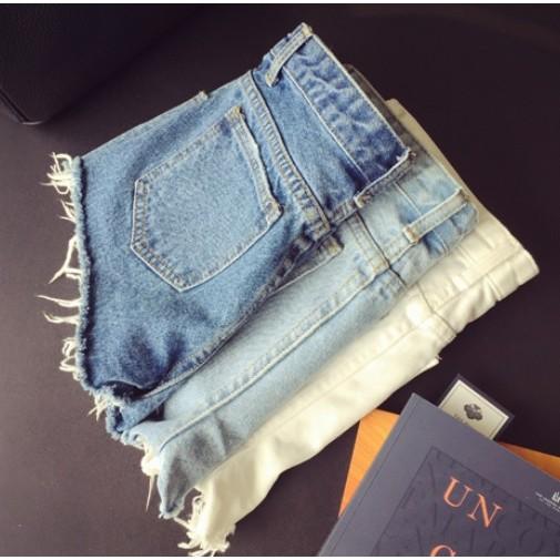 150 百搭牛仔褲單寧牛仔褲純色褲牛仔白色褲天藍色褲純色短褲