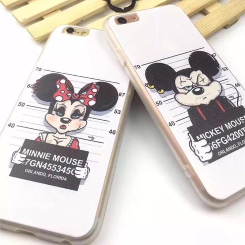 惡搞迪士尼系列情侶款iphone6 iphone6plus 手機保護套手機殼
