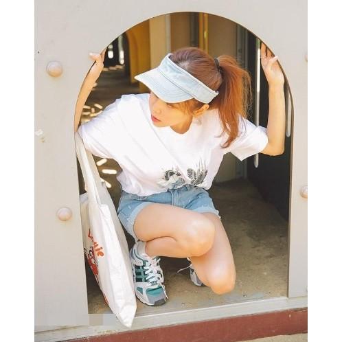 ~灰熊Q ~韓國 可折疊牛仔空頂帽防曬遮太陽帽男女棒球帽登山帽子鴨舌帽潮帽 帽