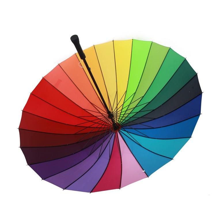 彩虹16 骨超大晴雨傘