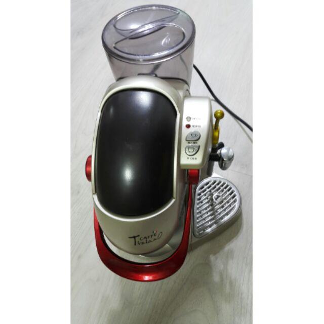 CAFFE Tiziano capsule 義式濃縮咖啡機TSK 1136
