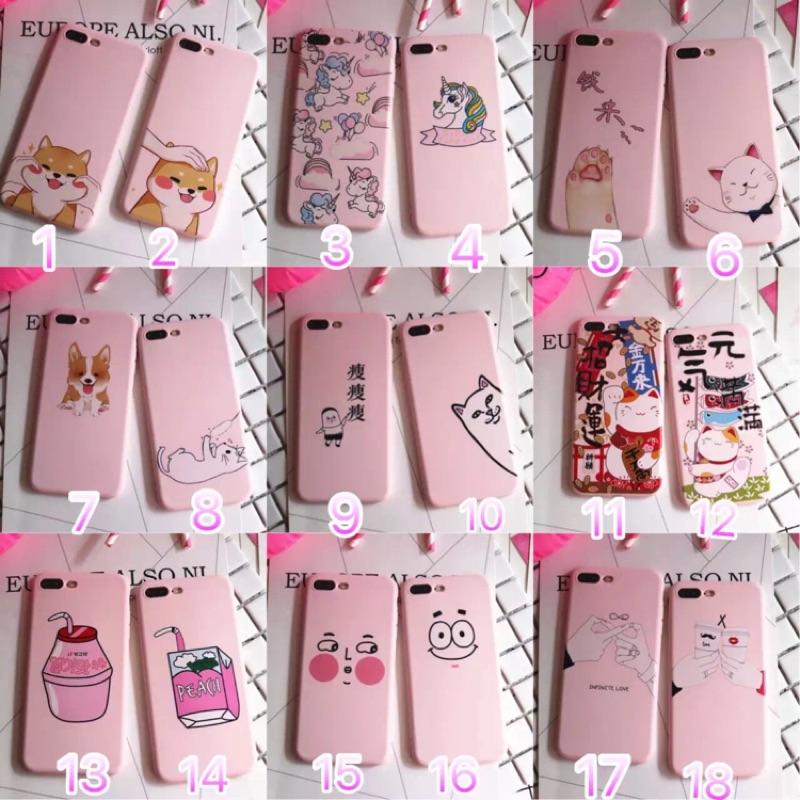 oppo 蘋果iphone7plus 可愛卡通iphone7 手機殼蘋果6plus 硅膠軟