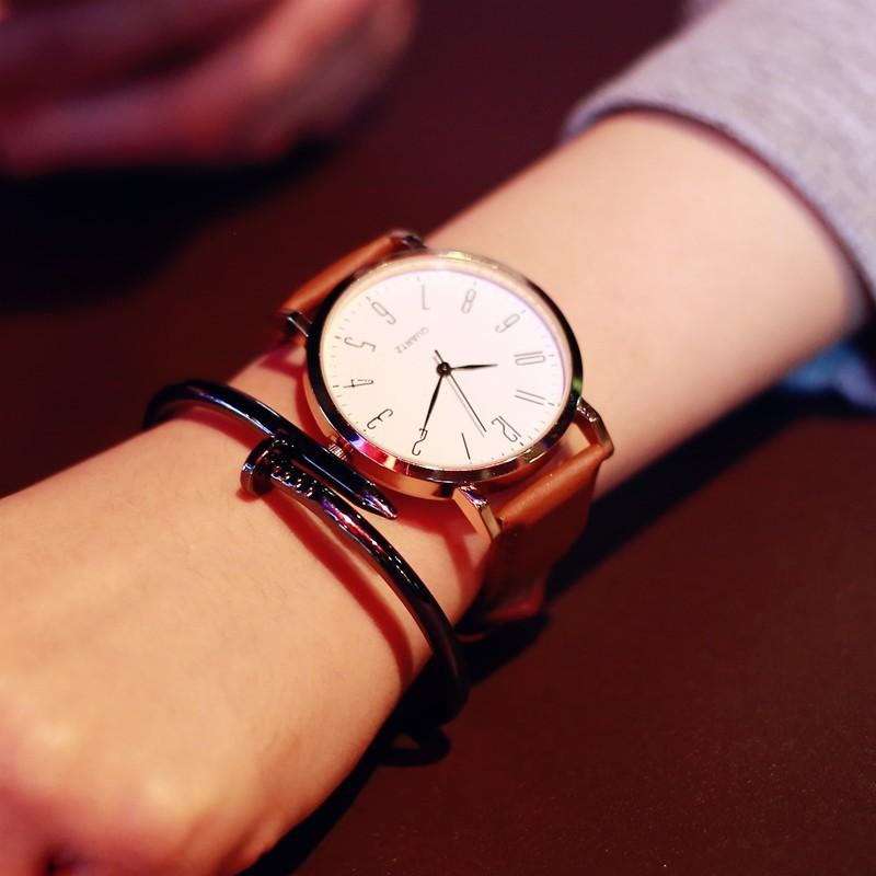 ~~ 風~~手表女學生 簡約女表2015 韓國復古 潮流皮帶 男學生手錶 手錶女生 男生