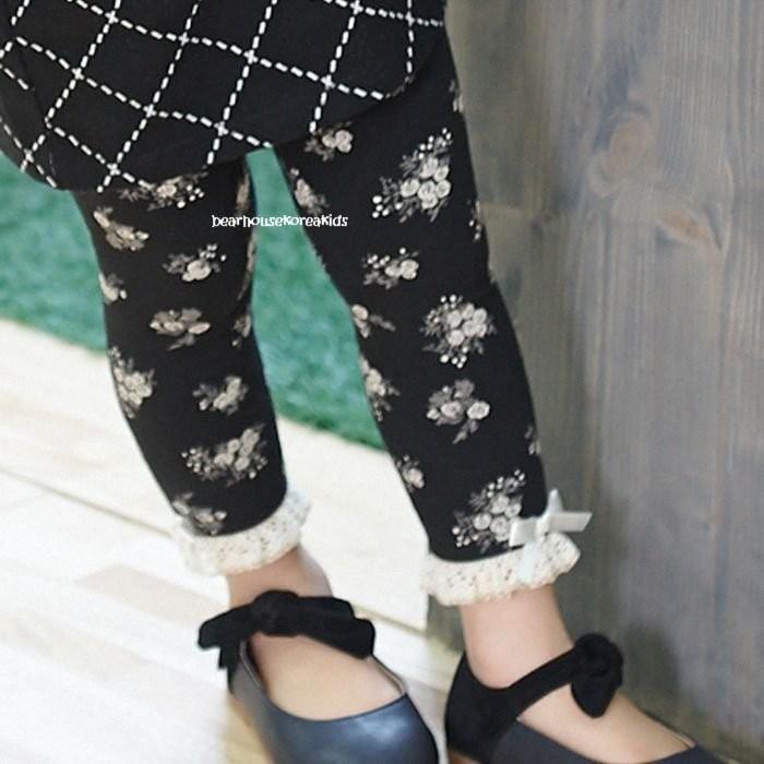 °~格子熊童部屋~°韓國 ~~200 均一價~花朵蕾絲內搭褲5 9