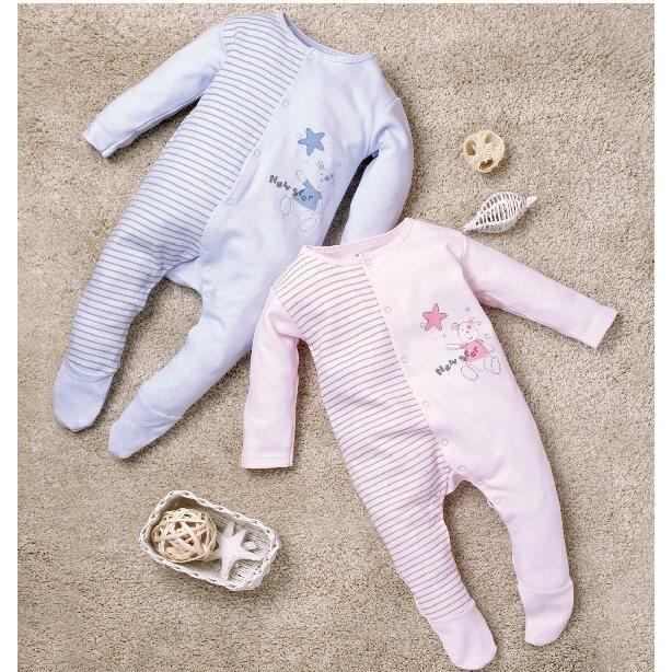 製厚款嬰兒腳套兔衣兔裝連身衣(厚、長袖長褲、全釦)彌月 3293