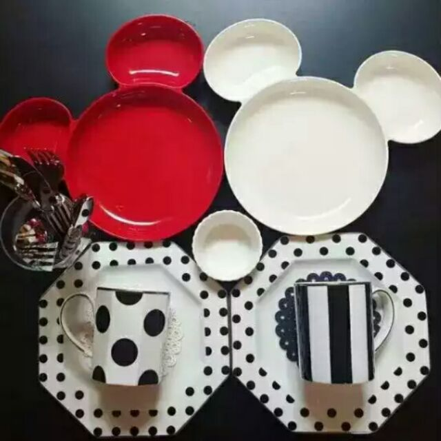 ……米奇頭型餐盤水果盤
