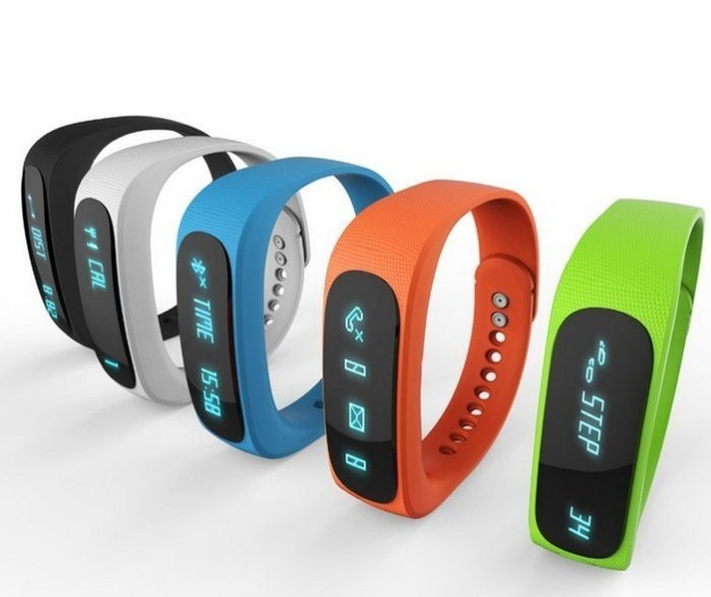 E02 智能藍牙手環防水手錶安卓蘋果穿戴睡眠監測 健身遙控 NIKE Android Ap