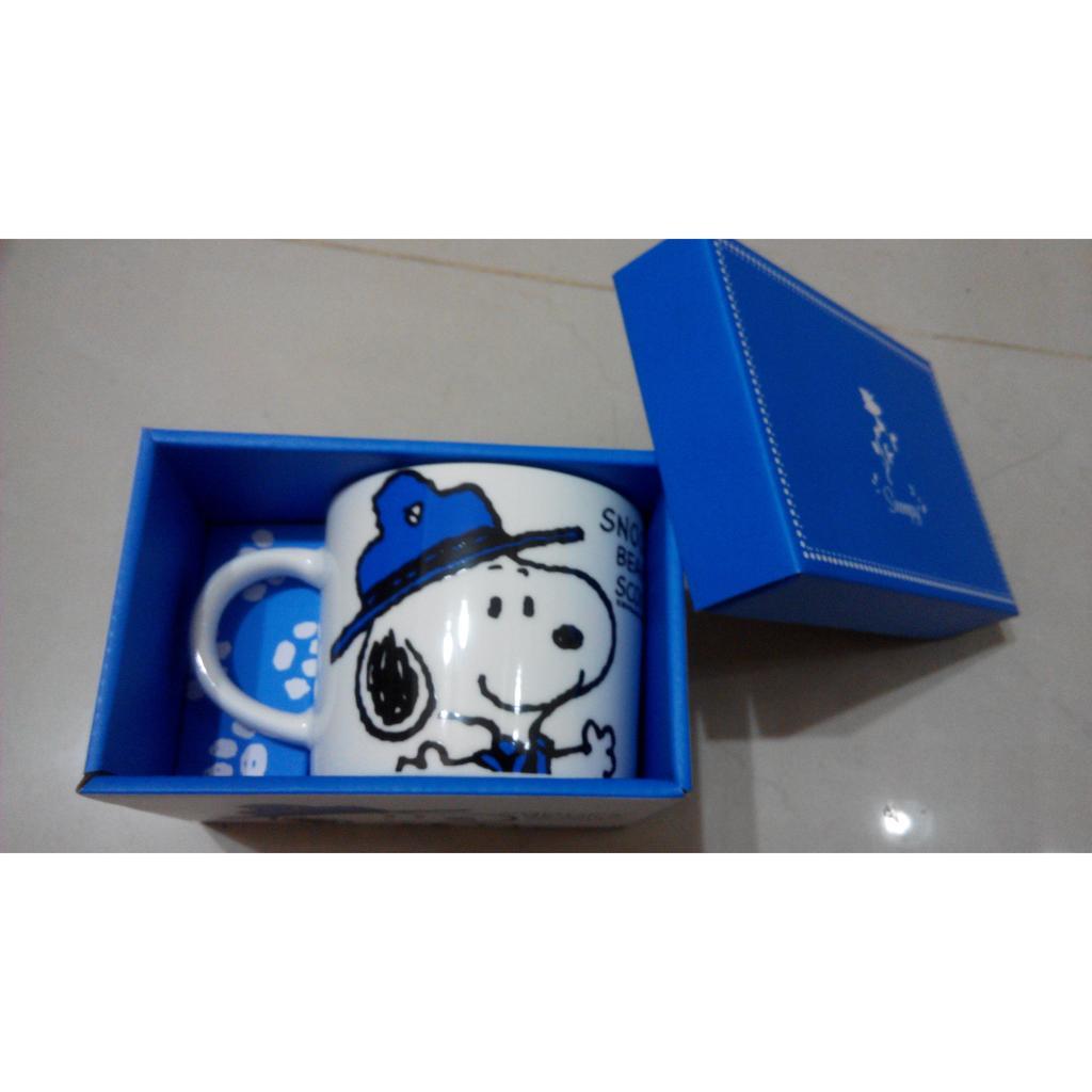 史努比Snoopy 野趣湯杯 420ml 骨瓷杯馬克杯史奴比SNOOPY 藍盒咖啡杯水杯茶