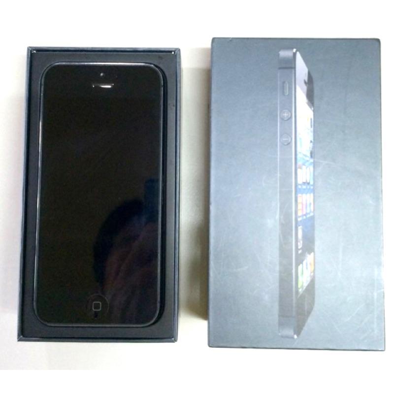 IPhone5 黑色16G 已過保九成新iOS 7 1 2 已jb