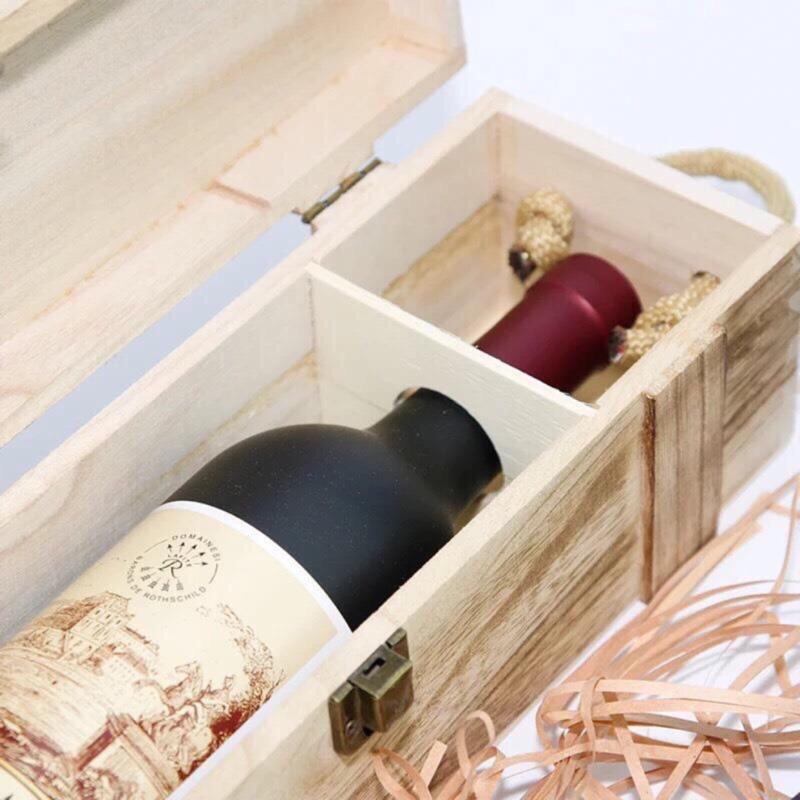 紅酒木盒 單支裝