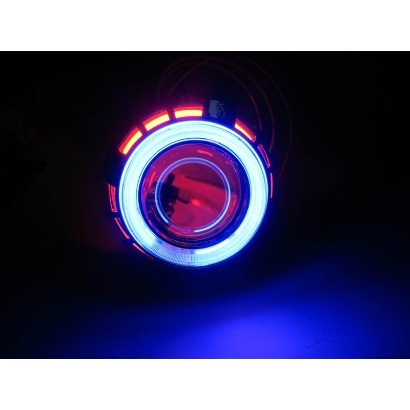 魚眼大燈HID 遠近光一體偉世通非仿E46 GMS 大燈天使惡魔終極精工魚眼BWS CUX