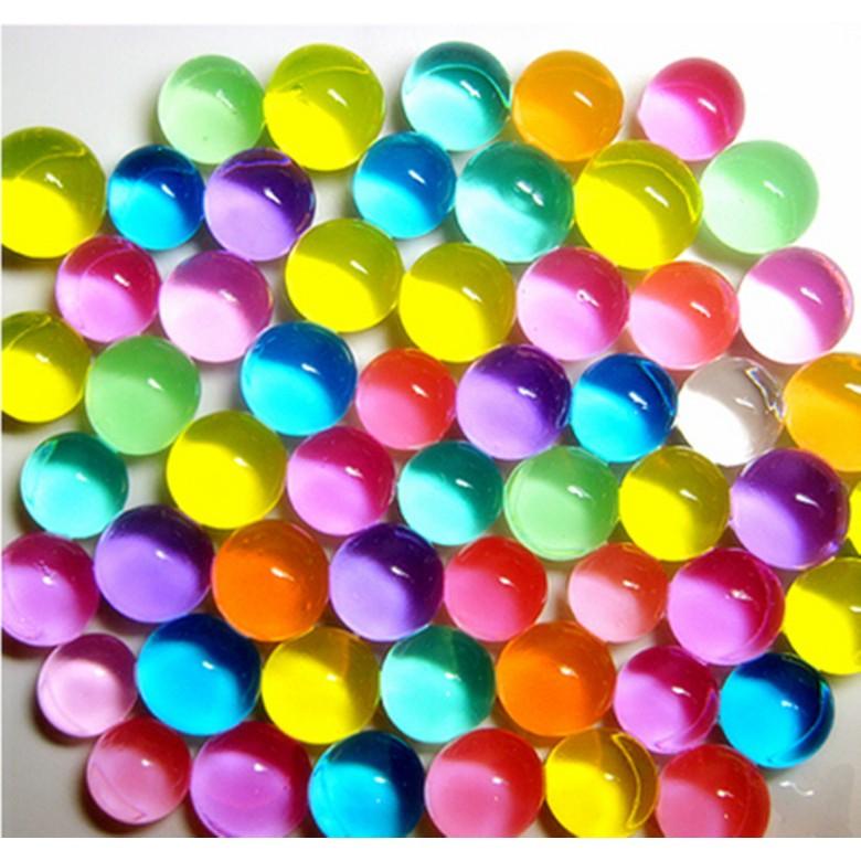 ~紀小南·歡樂購~150 顆5 元共12 色水晶寶寶水晶泥水晶球彩色土天使的眼淚水晶珠