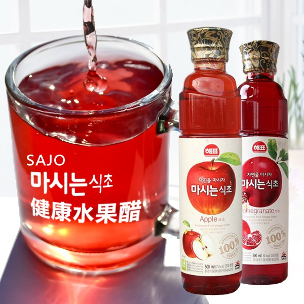 ~四爺 ~韓國 飲品SAJO 水果醋飲500ml 石榴醋TP 01