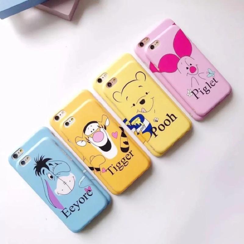 {迪士尼手機殼}蘋果I phone 6 6s 6 plus 6s plus 維尼家族手機殼