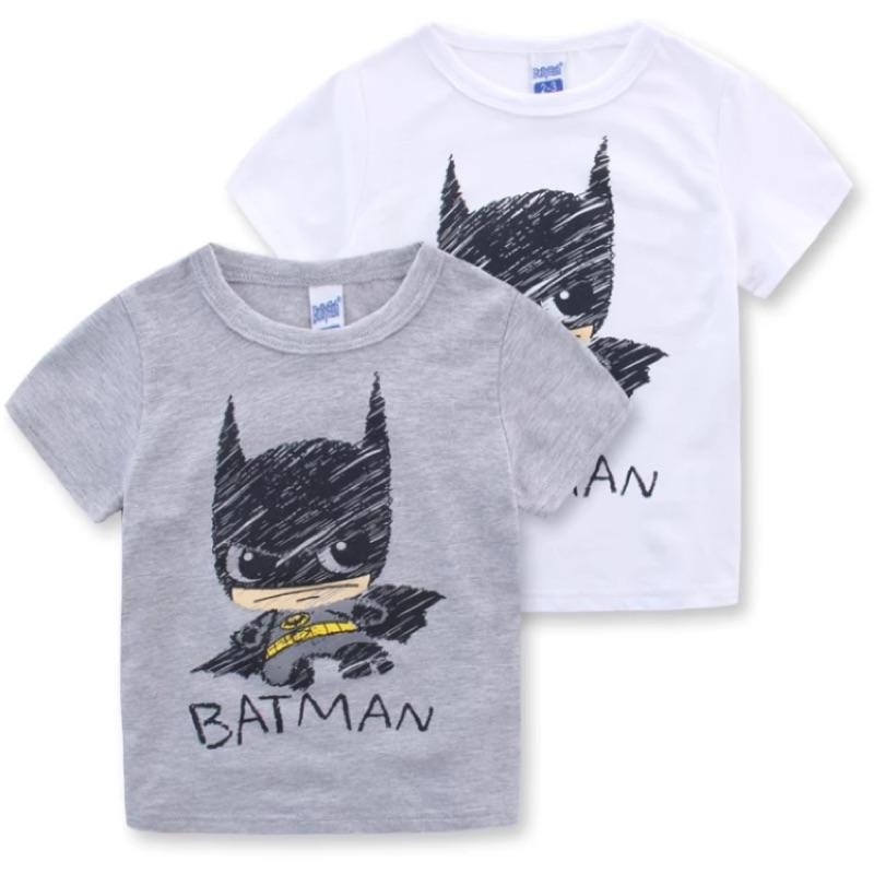 男童 BATMAN 塗鴉短袖T 恤上衣蝙蝠俠兄弟裝