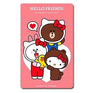 Line Kitty 熊大好朋友款悠遊卡