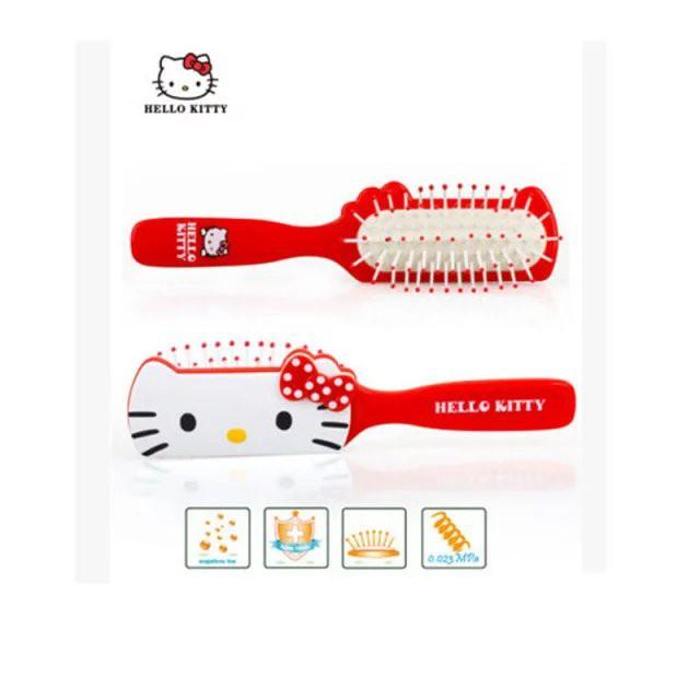 kitty 可愛防靜電美髮梳子按摩梳氣囊梳KT 可愛捲髮梳