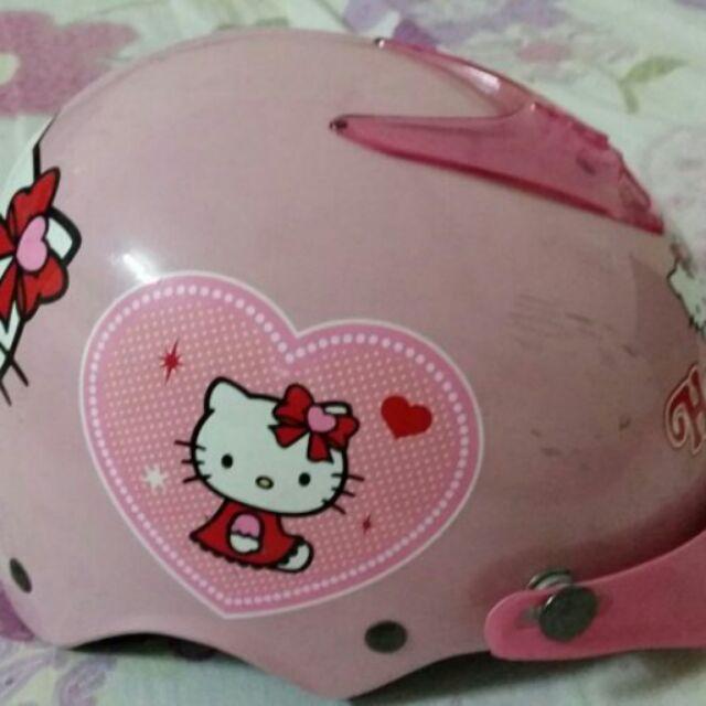 兒童hello kitty 凱蒂貓安全帽